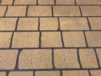 Stencil Concrete finish